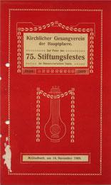 Stiftungsfest 1909
