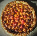 recette tarte feuilletée mirabelles