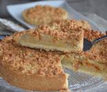 recette tarte aux pommes et amandes croustillantes