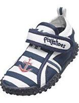 Playshoes Aquaschuhe, Badeschuhe Maritim mit UV-Schutz 174781 Jungen Aqua Schuhe