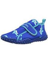 Playshoes Aquaschuhe Hai mit höchstem UV-Schutz nach Standard 801 174773, Unisex - Kinder Dusch- & Badeschuhe, Blau (original 900)