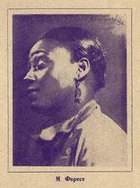 М. Форест, портрет на нотной обложке, 1927