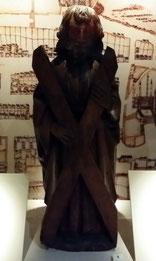 Figur des Heiligen Andrew, National Museum of Scotland