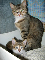 Kukino con mamma Agata