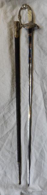 épée de cérémonie officier supérieur 1er empire