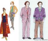 Männer und Frauen im Stiltyp Kreativ
