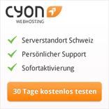 Cyon-Logo und Angebote