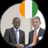 Mr. N'Dri Kan David Masters Japan Alumni from Côte d'Ivoire