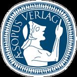 Bild: AESOPUS Verlag Logo, blau