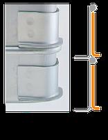 システムバットL型の足の形状