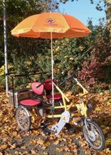 Fun2Go Dreirad mit Sonnenschirm