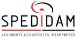 logo Spedidam les droits des artistes interprètes