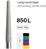FG-Diamant 850L, Konus lang, Kante rund