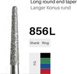 FG-Diamant 856L, Langer Konus rund