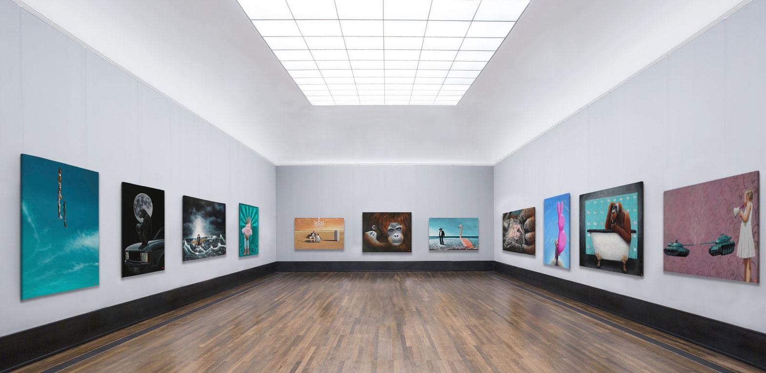 Die Kunst von Christian Ristau ist in erster Linie gegenständlich und allegorischer Natur.
