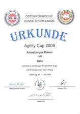 AG-Cup 2009 - Gesamtwertung
