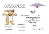 11. Agility-Oldie-Turnier am 23. Aug. 2009 beim Floridsdorfer Hundsportclub in Wien