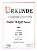 6. Joschi-Wimmer-Gedenk Agilityturnier am 21. Juni 2008 beim Hundesport und Zuchtverein in Eugendorf