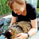Bettina Reuther - Betreuerpatin für Katzen bei Pechpfoten