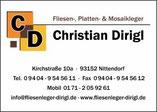 Fliesen Dirigl in Nittendorf