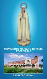 Depliant Informativo Movimento Mariano Betania Ecclesiale