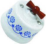 Fontini #ceramica #decorata #impianto #a vista #c'era una volta #vintage #elettrico