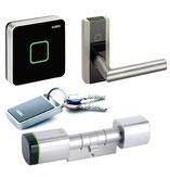 Kaba evolo Digitalzylinder und Elektronikbeschläge, Wand- und Remoteleser der evolo Familie kaufen Sie bei Thurner Sicherheitstechnik