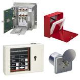 Laufkartendepot und Laufkartenkasten, Schlüsselschalter und FSD