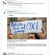 """#ThisIsACoup  Faznet """"Wut auf Deutschland"""". Screenshot: Helga Karl"""