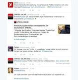 #ThisIsACoup  mit Beiträgen Spiegel und stern. Screenshot: Helga Karl
