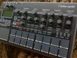Xtribe Grey, Instrument Overlay von mxpand - für Korg Electribe 2 (E2), Synthesizer, Groovebox, Sequencer, hochwertige Bedien-Schablone/Skin/Folie, EMX-1