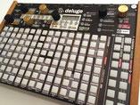 Xluge Complete, Instrument Overlay von mxpand - für Synthstrom Audible Deluge 3.1, Synthesizer, Sampler, Sequencer, Groovebox, hochwertige Bedien-Schablone/Skin/Folie