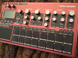 Xtribe Red, Instrument Overlay von mxpand - für Korg Electribe 2 Sampler (E2S), Synthesizer, Groovebox, Sequencer, hochwertige Bedien-Schablone/Skin/Folie, ESX-1