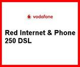 Telefonanschluss von Vodafone mit Festnetz gibt es im Komplettpaket mit DSL 250