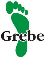 Logo - Grüner Fuß - von ORTHOPÄDIE-Schuhtechnik  Meisterbetrieb Uwe Grebe
