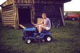 MG mit Traktor 1975