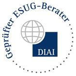 Das DIAI-Siegel »Geprüfter ESUG-Berater« ist ein sicherer Gradmesser professioneller Beratung für Sanierungen unter Insolvenzschutz.