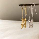 earrings gold&silver