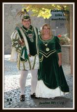 Prinz Hans-Peter I & Prinzessin Erika I. Hahnengreß, 2012