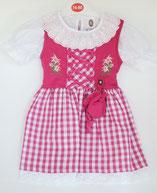 Kinder Trachtenkleid Karo Pink