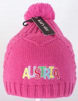 Kinderhaube Austria pink