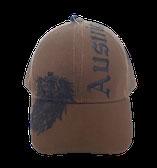 "Kappe Austria olive, Stick Adler und ""Austria"""