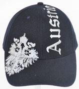 """Kappe Austria navy, Stick Adler und """"Austria"""""""