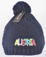 Kinderhaube Austria rot