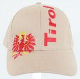 """Kappe """"Tirol"""" + Adler, beige"""