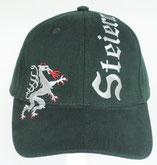 Kappe Steiermark Panther grün