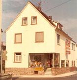 Ladenlokal Eschau um 1970