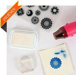 Tintas, rotuladores y polvos para embossing