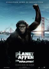 Plakat Planet der Affen Prevolution