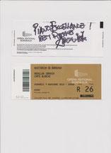 Piano excellent (dédicace d'Abdullah Ibrahim ) Auditorium de Bordeaux 33000 Gironde